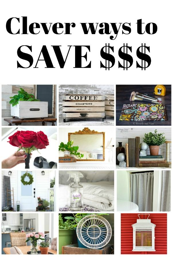 save money on these thrifty diy projects from the thrifty style team. Waste not, want not. Find ways to use what you have, thrift store transformations, or simple cheap and cheerful crafts to make your home beautiful on a budget.
