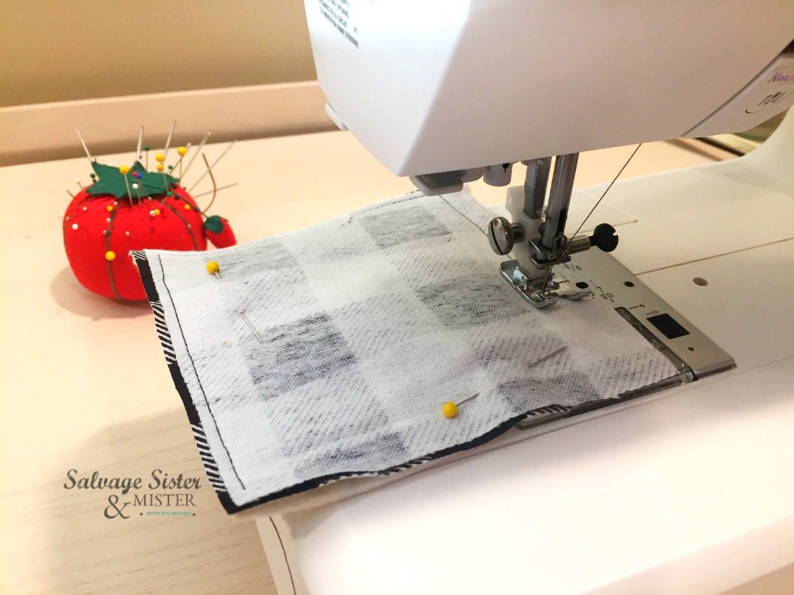 easy sewing project on salvagesisterandmister.com