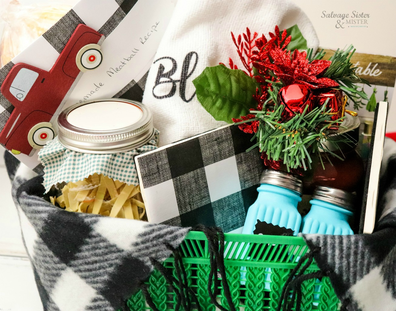 Italian Dinner Gift Basket - holiday git on salvagesisternadmister.com