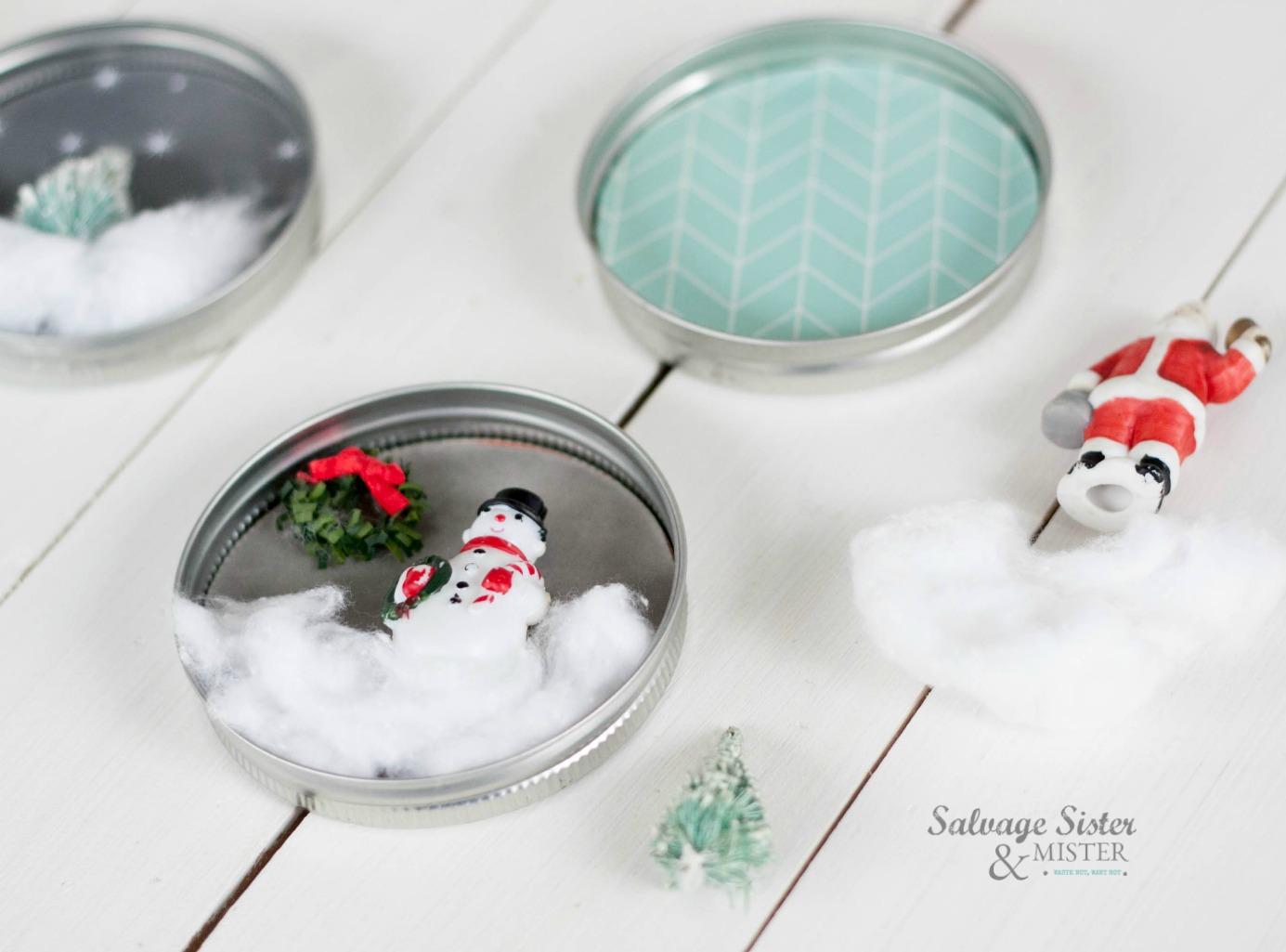 mason jar lid craft on salvagesisterandmister.com