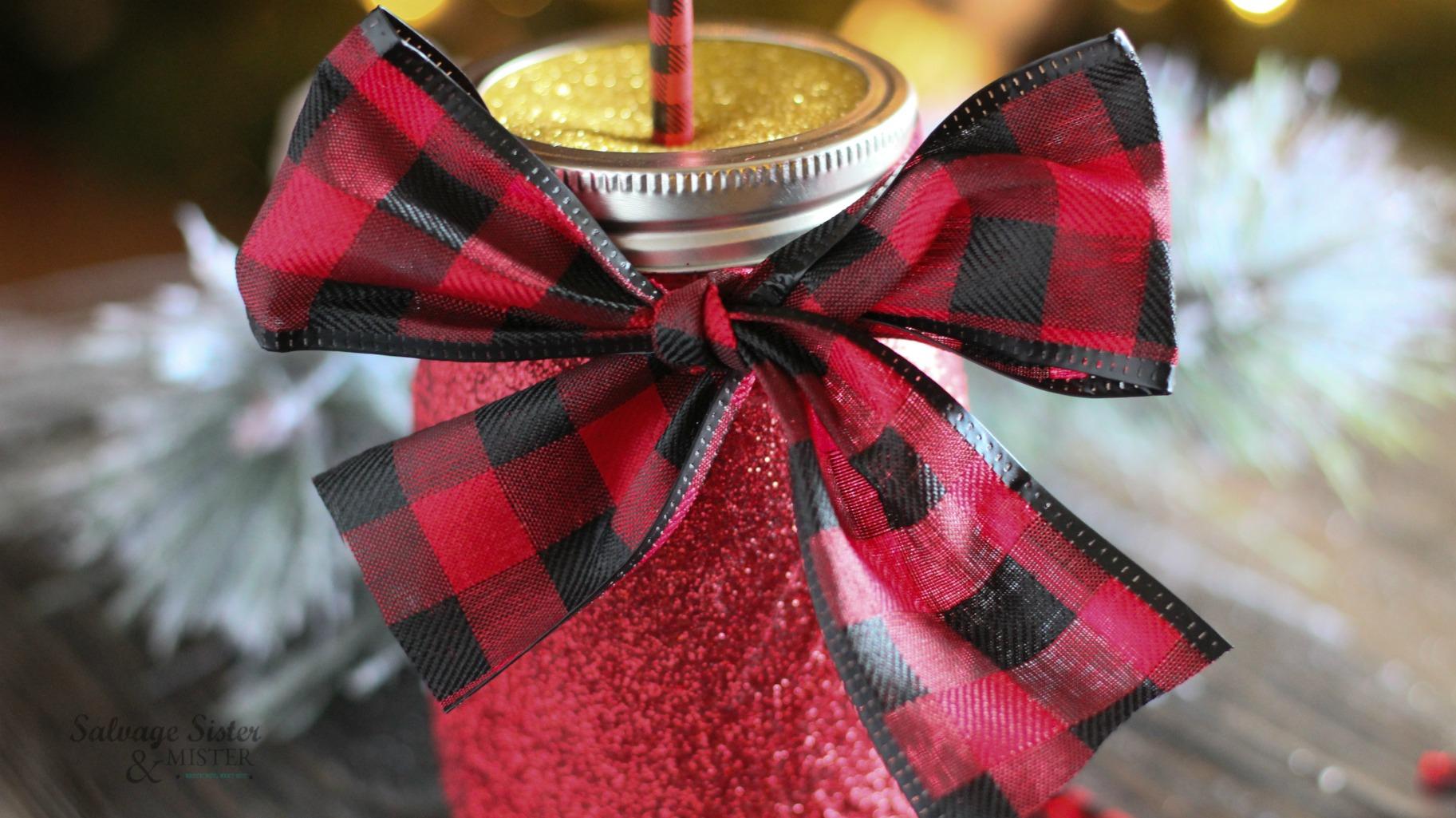 mason jar craft on salvagesisterandmister.com