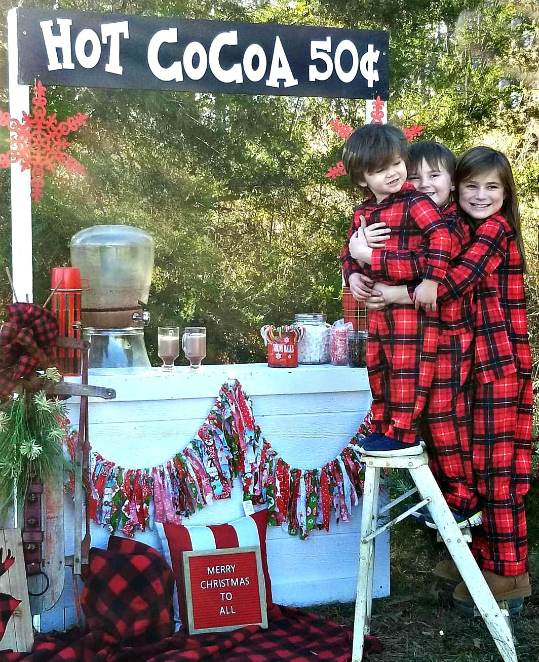 Making a hot cocoa stand (phot booth) using thrifted items or what you have on hand. Fun activity for the winter or a party. Great holiday decor to take your family photos in . Get the details on salvagesisterandmister.com