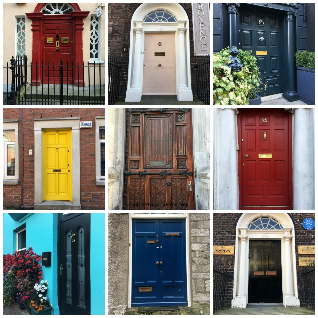 for the love of doors - travel Ireland - doors of Ireland and Dublin on salvagesisterandmister.com