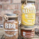bbq seasoning mix jar labels
