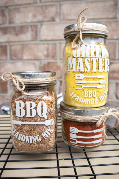 bbq seasoning mix jar labels