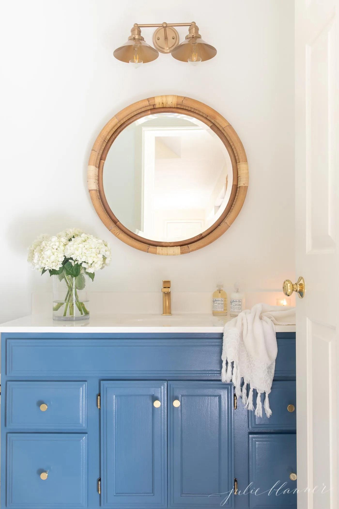 25 Budget Friendly Diy Bathroom Vanity Makeovers