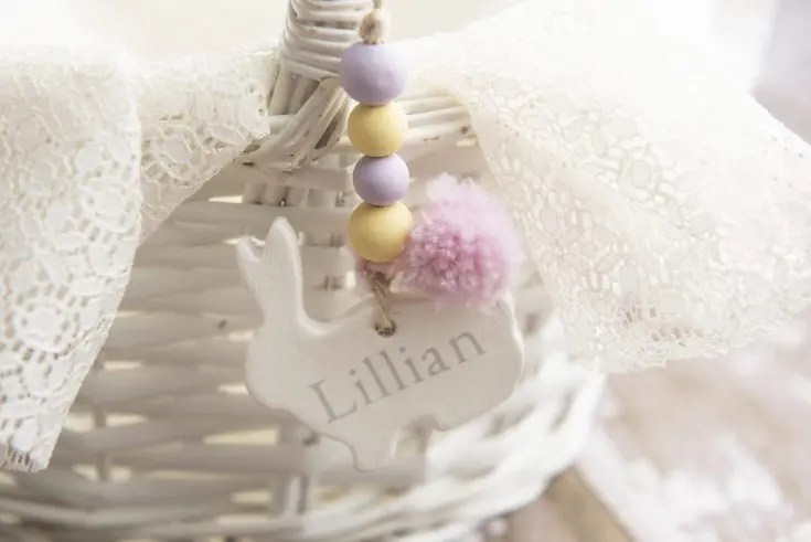 Clay Craft Basket Tags