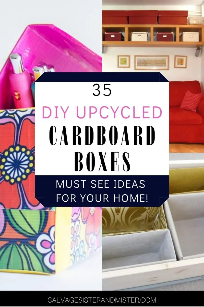 upcycled boxes