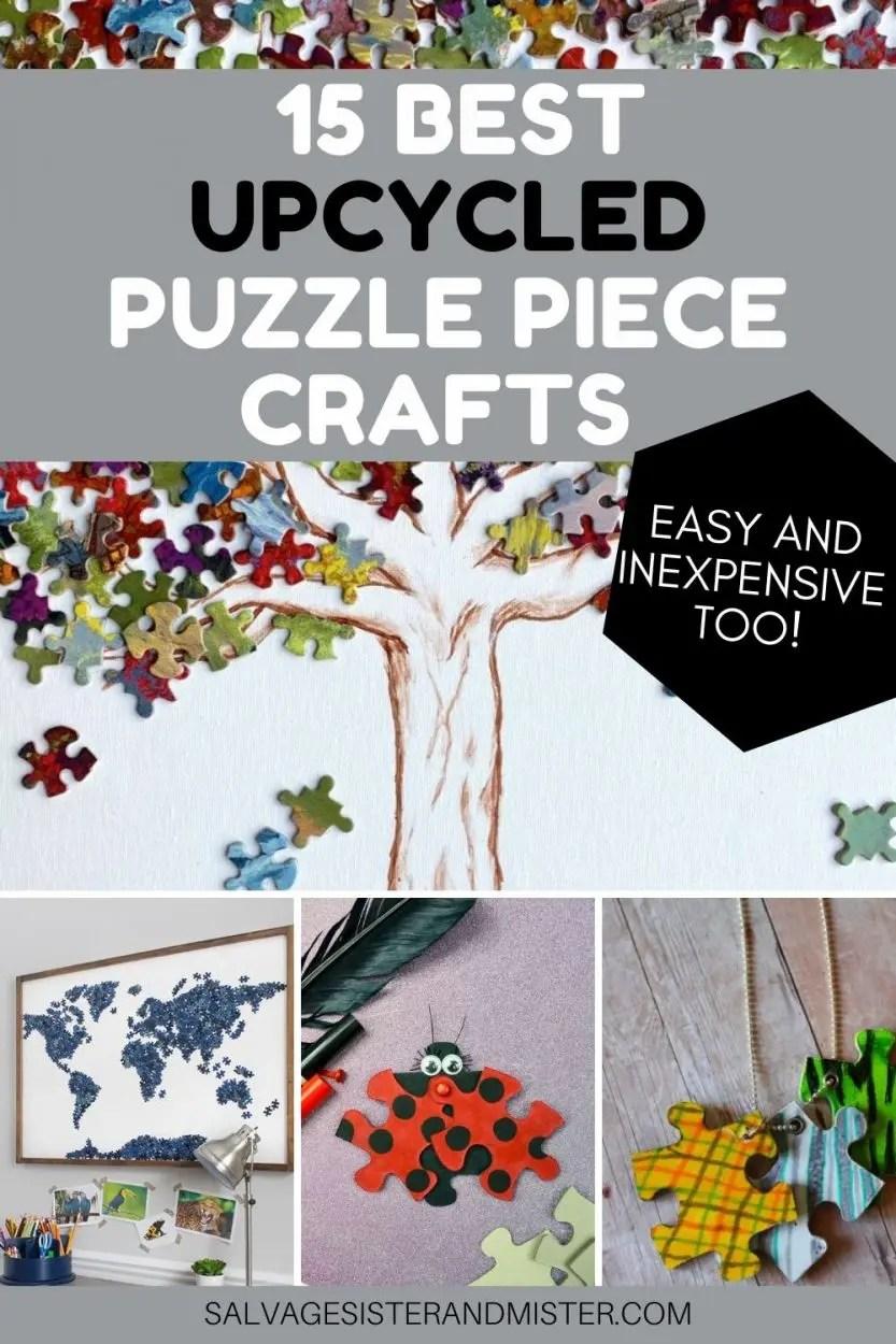 puzzle piece crafts