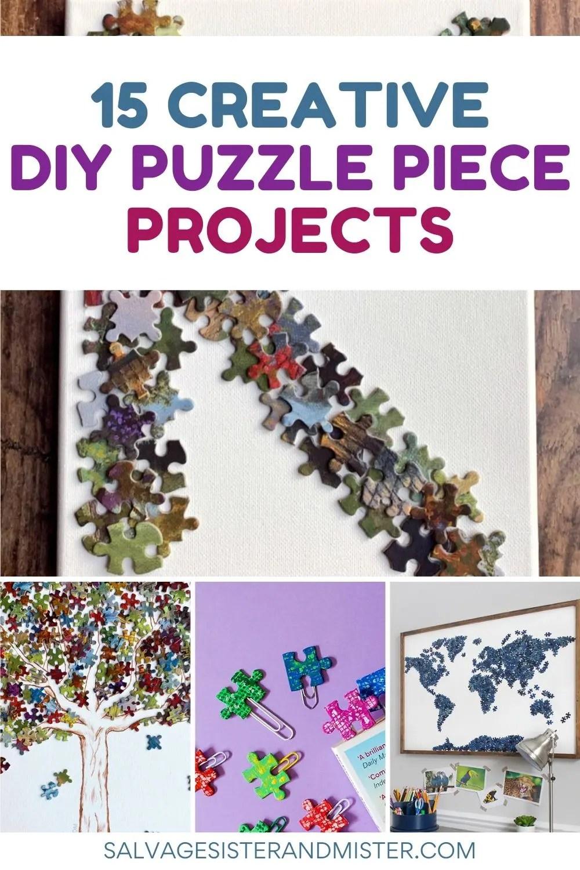 puzzle piece DIY projects