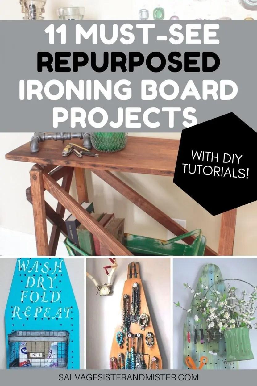 diy ironing board collage