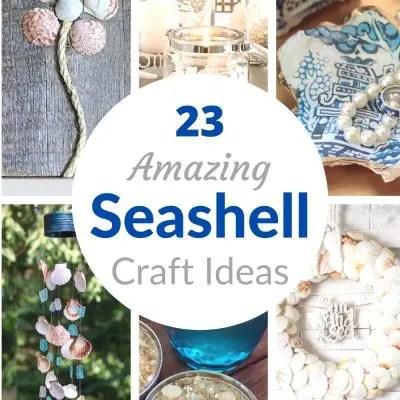 diy seashell craft ideas