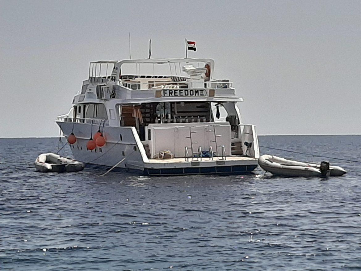 Live-aboard Freedom III