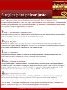 5 reglas