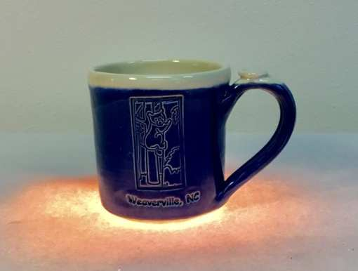 Bear mug midnight blue