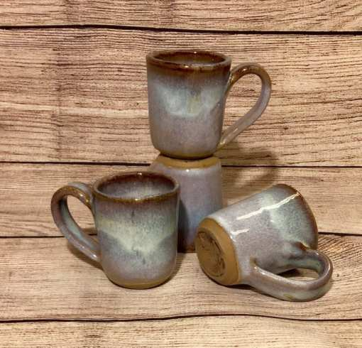 handmade espresso cups by salvaterra pottery
