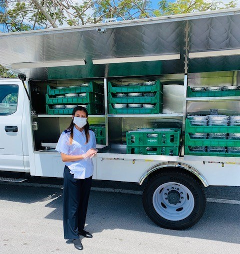 covid-19 relief food truck lake worth