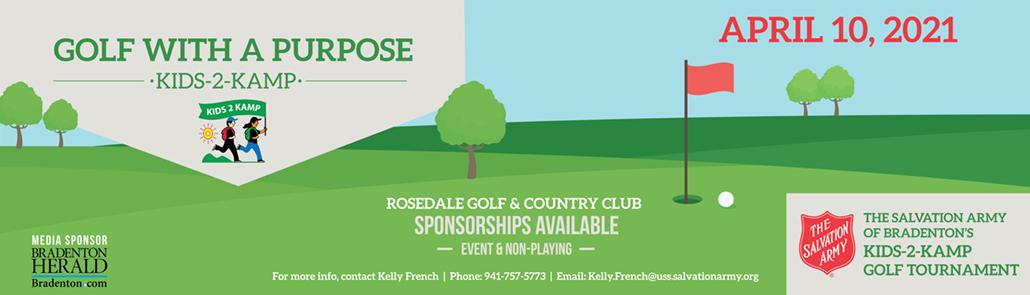 Manatee Golf Banner