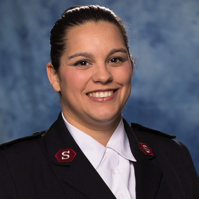 Lt Juliana Mason WPB Corps Officer Pastor