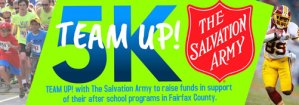 Team Up 5K -Run Walk @ The Salvation Army Fairfax Corps