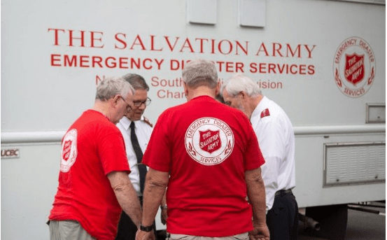Hurricane Florence tracks closer to North and South Carolina, The Salvation Army is preparing to provide physical, emotional, and spiritual care