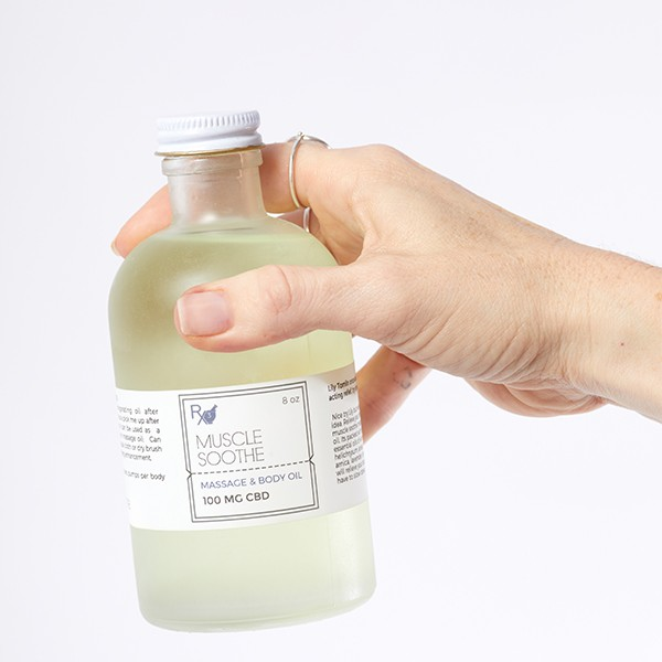 Muscle Soothe Massage Body Oil