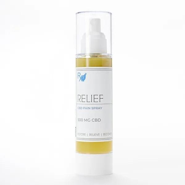 Relief CBD Pain Spray Large