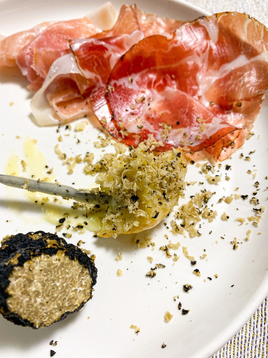 Recipe: Italian style Truffle Fondue