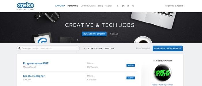 crebs lavoro Web Designer
