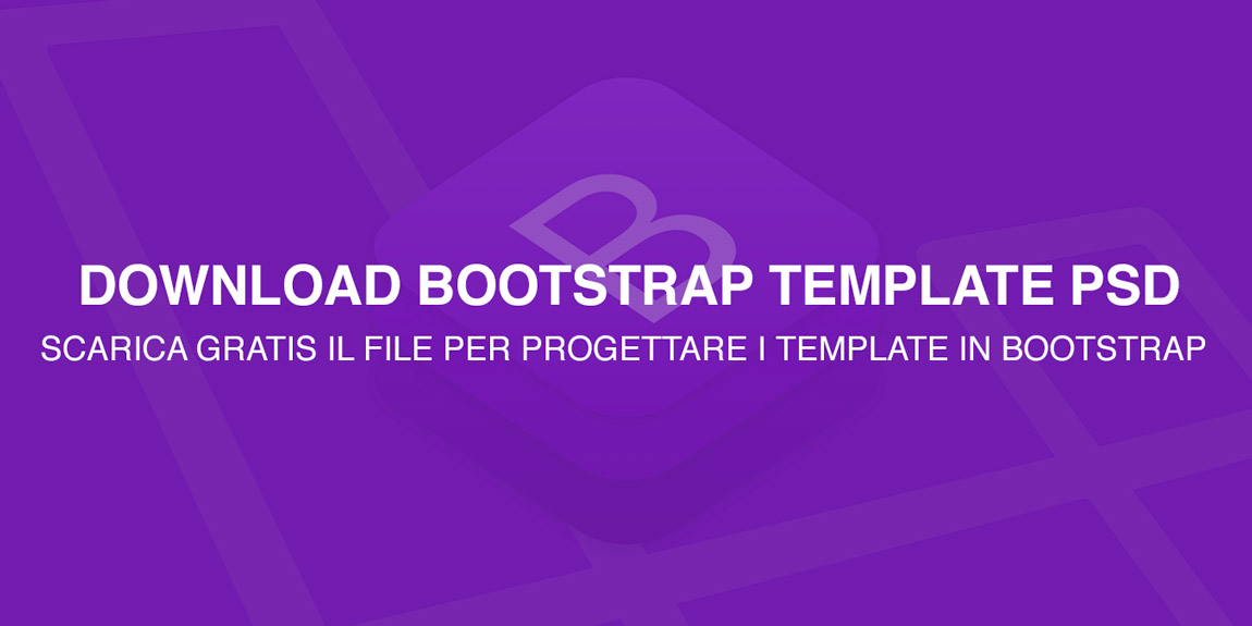 download bootstrap template psd free