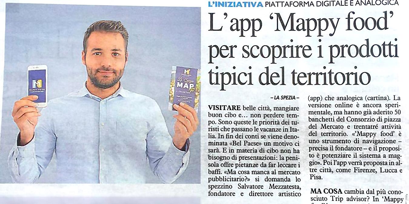 Mappy Food Articolo La Nazione