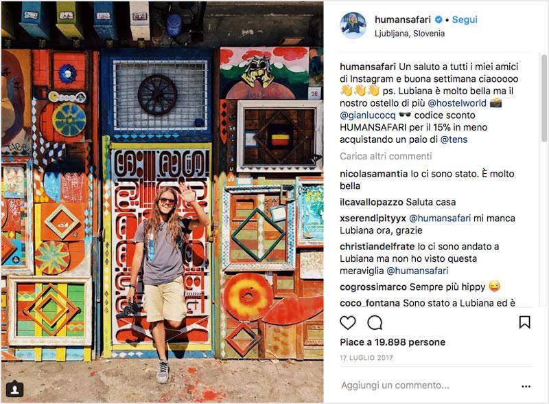 Profilo Influencer Instagram