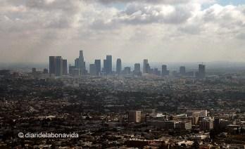 Panorámica de la inmensa ciudad de Los Angeles