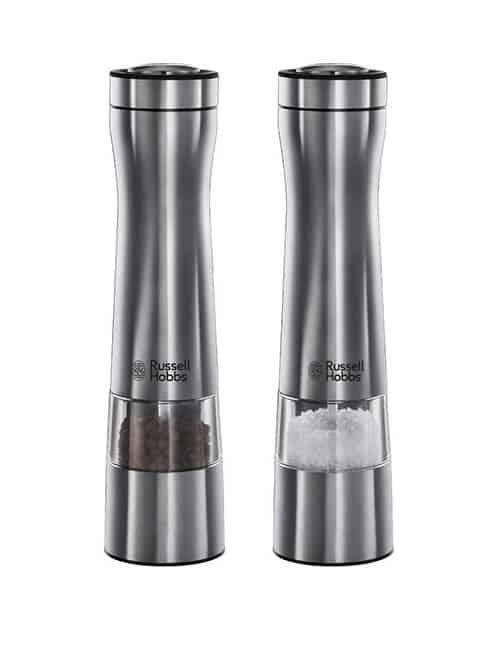 Russell Hobbs 22810 56 Classics Salz Und Pfeffermuhle Mit Elektrischem Keramikmahlwerk Im Test Salz Pfeffermuhle Ratgeber