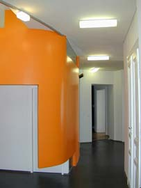 Innenraumgestaltung Anwaltsbüro Dr. Sacha