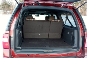 The Long Wheelbase Of The Expedition El Means   Cubic Feet Of Cargo Space Behind The