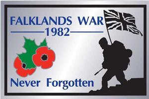 Shop Falklands War Lapel Badge