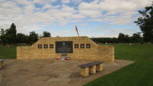 NMA memorial with skyline
