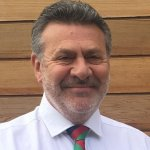 Stephen Penfold Trustee of SAMA 82 wearing SAMA 82 tie