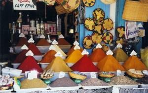 Boutique d'épices à Essaouira