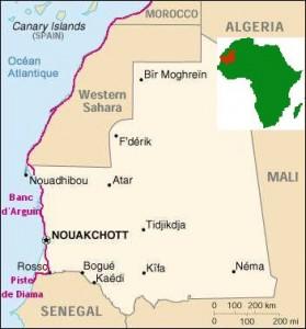 Itinéraire Mauritanie 2002