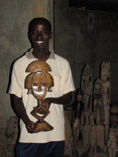 Demba et la statue choisie