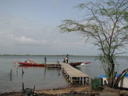 Embarcadère de N'Dangane
