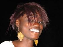 Un sourire de Soukeye avant de quitter N'Dangane