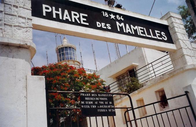 Dakar, le phare des Mamelles