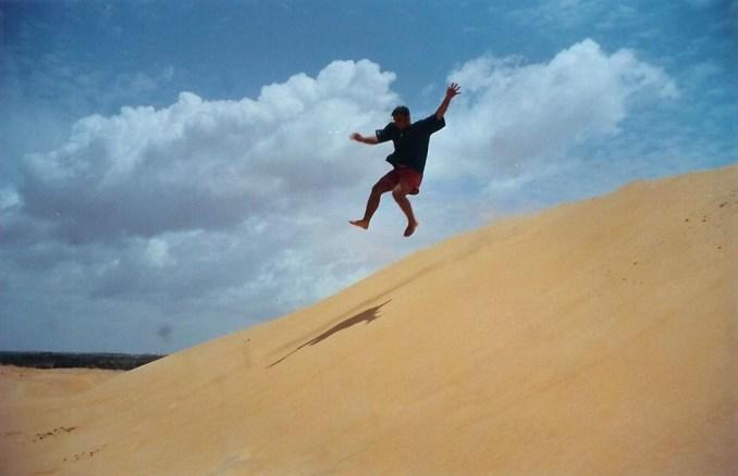 Patal dans les dunes de Lompoul