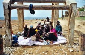 Famille rencontrée sur l'île de N'Gor