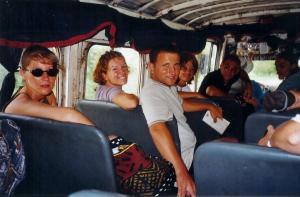 Minibus inside