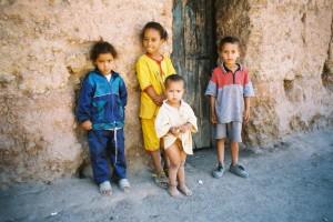 Mômes marocains à Ouzoud