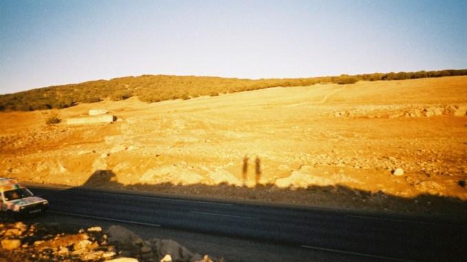 Titine au pied de l'Atlas